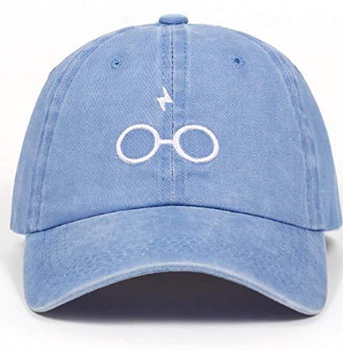 lbinceDesign Damen Herren Brille Baseball Cap Unisex Mode Blitz Sport Hut, b