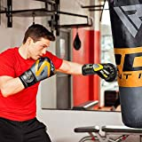 RDX Boxhandschuhe Muay Thai Boxsack Kickboxen Training Sparring Sandsack Maya Hide Leder Boxing Gloves - 5