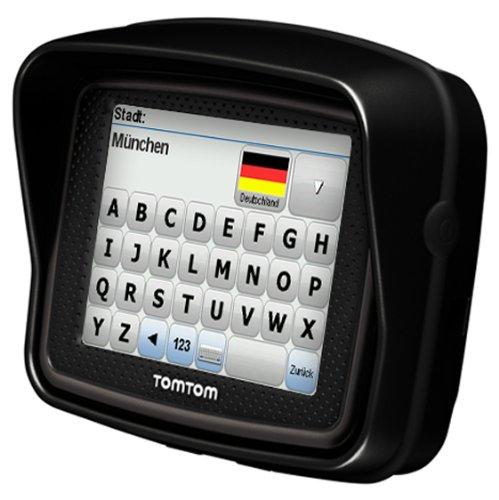 Bild 6: TomTom Urban Rider Central Europe Motorrad-Navigationssystem (8,9 cm (3,5 Zoll) Display, IQ Routes, Fahrspurassistent) mattschwarz