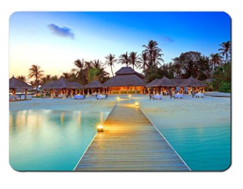 Mauspad Malediven Design