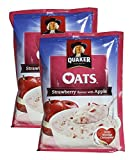#9: Big Bazaar Combo - Quaker Oats Strawberry and Apple, 40g (Pack of 2) Promo Pack