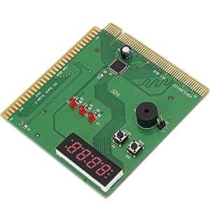 Testeur 4 chiffres de la carte mère PCI ISA carte Diagnostic PC Code d'erreur