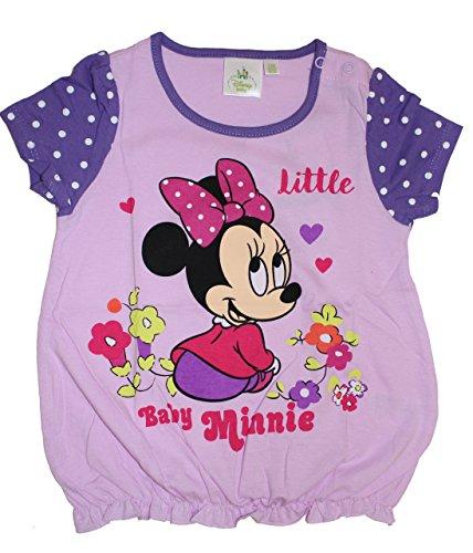 Disney Baby Minie Maus Mädchen T-Shirt (80 (12/18 Monate) Lila)