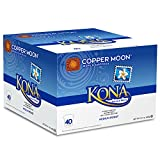 Copper Moon Kona Blend Single Cup Pod, 40 Count