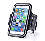 N+ INDIA Xiaomi Redmi 3s Prime Fancy Sports Armband, Black Gym,Running, Jogging,Walking,Hiking,Workout and Exercise Armband Holder For Xiaomi Redmi 3s Primewith Extra Adjustable-Length Extension Band Black