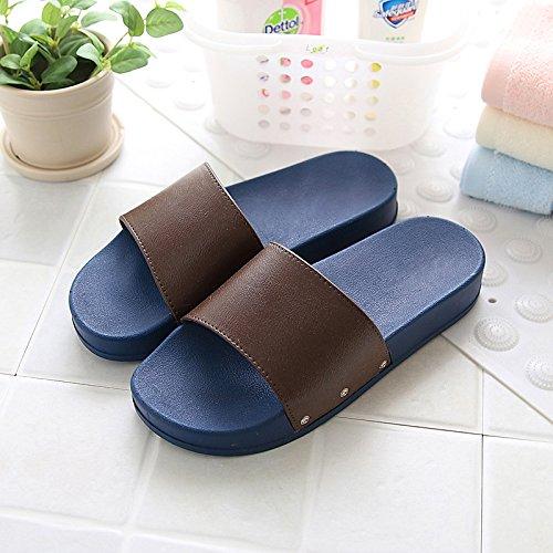 DogHaccd pantofole,In estate la spiaggia esterno femmina pantofole antiscivolo, grazioso stile Coreano, Minimalista bagno home estate coppie doccia pantofole Brown4