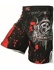 Fight Pantalones Cortos Para MMA, boxeo, artes marciales, kickboxing, Muay Thai, L