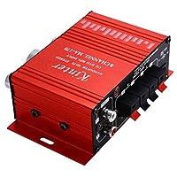 MA170 2 Channel Hi-Fi Stereo Amplifier Motorcycle Car DC12V Mini Digital Speaker DVD MP3 Booster