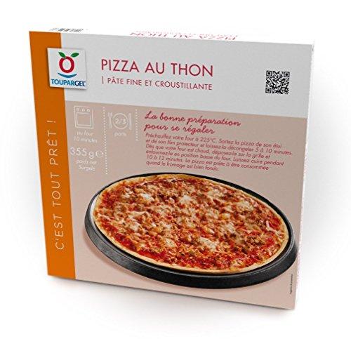 TOUPARGEL - Pizza thon - 355 g - Surgelé