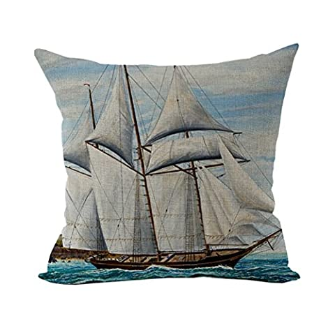 Nunubee Soft Cushion Home Accessories Cotton Linen Pillow Cases Decorative