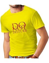 lepni.me Camisetas Hombre No Molestar - Citas Divertidas - Regalo