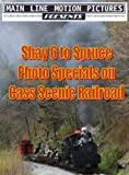 Cass Scenic Railroad: Western Maryland Shay 6 to Spruce
