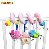 tololo Baby Spirale Aktivität hängenden Sound Rasseln Spielzeug für Kinderbett, Autositz, Kinderwagen–Bird
