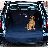 Rudelkönig Universal Kofferraummatte - Idealer Kofferraumschutz für Hunde - Widerstandsfähige Autodecke mit Ladekantenschutz - wasserabweisend & pflegeleicht
