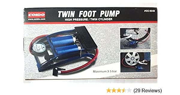 NEW Full Throttle Inflation Foot Air Pump FREE SHIPPING