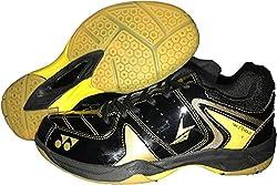 Yonex Badminton Non Marking Shoes - 8 UK, Black