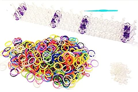 Crochet Loom - Pack Rainbow Loom - Kit de 600
