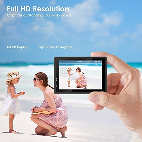 Youbegou 170 Wide Angle Lens Full HD 2 inch LCD 30m Waterproof Screen Action Camera
