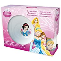 3 Piece Ceramic Snack Set - Disney Princess