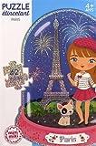 Minimiki - Puzzle étincelant - Emma à Paris