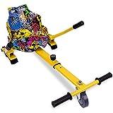 RCB Hoverkart pour Hoverboard Accessoires pour Gyropode Auto-équilibré Gokart Longueur Ajustable Compatibles avec Tous Les Hoverboards - 6,5/8 / 8,5/10 Pouces pour Adultes & Enfants (Hip)