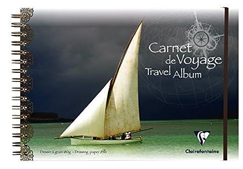 Clairefontaine PP Album de voyage, A4, 30 white pages - bateau à voile