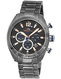 30643e4c071 porsamo Bleu Taylor gris acero inoxidable reloj cronógrafo para hombre 621  ALC