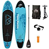 AQUA MARINA, VAPOR+CARBON-Paddle+LEASH, Paddle Board, SUP, 330x75x10 cm