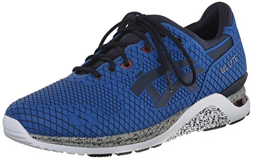 Asics Mens Gel-Lyte Evo NT Retro Running Shoe Mid Blue/Navy