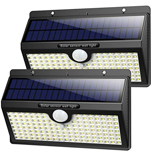 Luz Solar Exterior, [2019 Super Brillante 138 LED