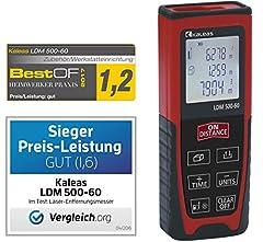 Kaleas Profi-Laser-Entfernungsmesser LDM 500-60 für
