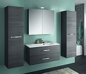 allibert badm bel set badm bel vormontiert elektronik. Black Bedroom Furniture Sets. Home Design Ideas