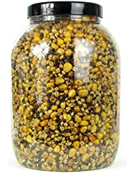 karpfenhans–partículas Mix angelfertig, maíz, Trigo, cáñamo, Tiger Nueces 3000ml