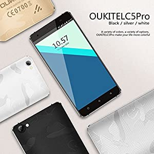 4G-Smartphone-OUKITEL-C5-Pro-50-HD-Display-Quad-Core-up-to-13GHz-Support-WCDMA-GSM-FDD-LTE-Android-Mobile-Phones-Quick-Charging