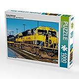 Alaska Railroad 1000 Teile Puzzle quer: Alaska - faszinierend anders (CALVENDO Orte)
