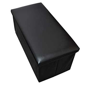 New Large Ottoman Foldaway Storage Blanket Toy Box