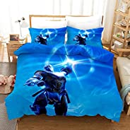 Vampsky Children's Room Classic Shooting Game Fortnite 3D Print Household Otaku And Anime Fan Bedding Sets Characters 3Pcs D