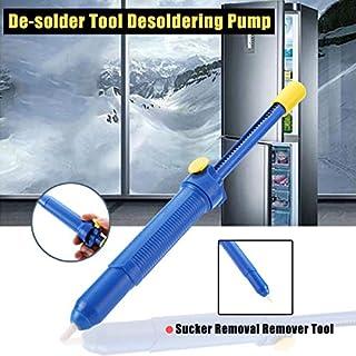 RDPSA Vacuum Desolder Solder Sucker Desoldering Pump Welding Tools Manual Remover Tackle Electric Iron Alloy Strong Suction