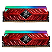 XPG Spectrix D41 16GB (2x8GB) DDR4 3000 MHz 288-pin RAM Bellek, Titanyum Gri