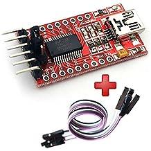 FT232RL FTDI USB a TTL Conversor Serial 3,3-5V Arduino Pro Mini + cable Modulo