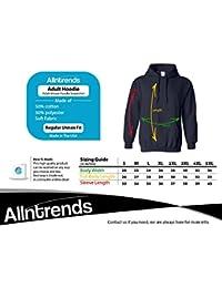 Allntrends Adult Hoodie Sweatshirt Pardon My French Humor Cool Top Irish Green