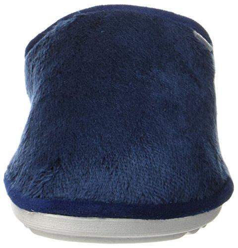 Inblu Ci000071, Pantoufles Ouvertes Sur La Cheville Femme Bleu