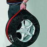 Pneumatico Tote copertura pieghevole portatile pneumatico di ricambio copertura borse di stoccaggio Covers pneumatico ruota per auto off Road Truck 66cm/26IN 80cm/diametro 31IN HZC04