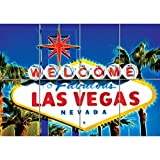 WELCOME LAS VEGAS SIGN GIANT WALL ART POSTER B605