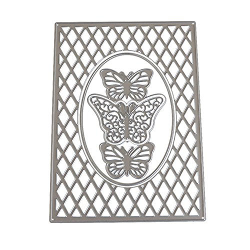 SULIFOR Prägemesserform Neue Blume Metallschneidform Schimmel DIY Scrapbook Album Papierkarte