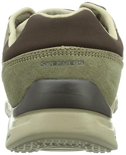 Skechers L-FitComfort Life Herren Sneakers Grau (Tpbr)
