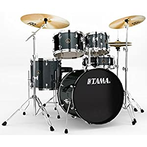 Tama Rhythm Mate Stile Giocattolo Set (5pezzi) con 50,8cm (20pollici) BASS DRUM incluso dreiteiligem Set di piatti/6pezzi hardware – Charcoal Mist
