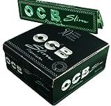 1x papier à rouler ocb slim Premium Cigarette King size papier à rouler gommé livre Livret