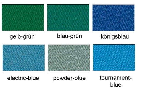 Tuch Simonis 860 HR Billardtuch, 165cm, Preis pro lfdm, Farbe:06 - tournament-blue