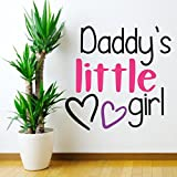 StickMe 'Daddy's Little Girl Wall Sticker' - SM 257 ( PVC Vinyl - 50cm X 50 Cm )